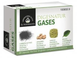 El Naturalista Digesnatur Gases 48 Cápsulas